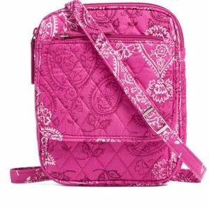 Vera Bradley Stamped Paisley Mini Hipster Bag